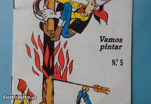 Livro para colorir - Lucky Luke
