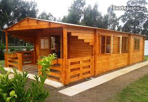Casas de madeira Casas Modulares Prefabricados