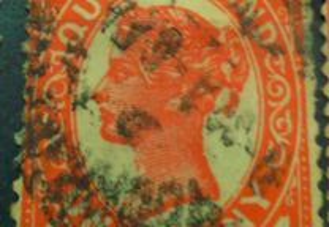 Selos Antigos Inglaterra Filatelia 1887-1970