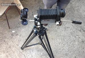 Nikon PB-4 unidade de fole para digitalizar slides
