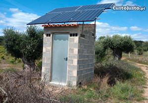 Bomba Solar de 1CV com 4 paineis de 270W