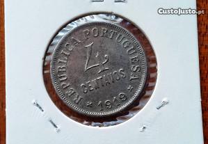 Moeda de 4 Centavos de 1919