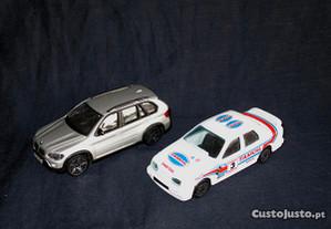 Ford Sierra Rally e BMW X5 Burago 1/43