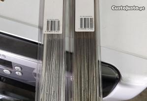 Varetas para soldar alumínio e inox TIG
