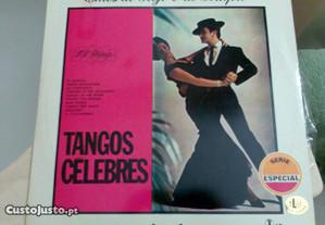 Disco vinil Tangos Célebres