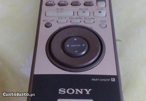 Comando sony DVD