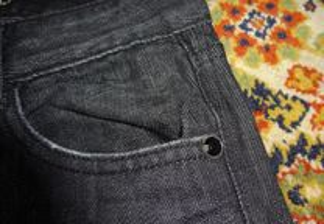 calças poivell jeans nº 34