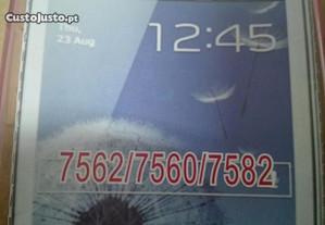 Capa em Silicone Gel Samsung Trend Plus Rosa -Nova