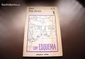 Livro Um esquema de Clara Pinto Correia