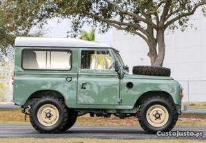 Land Rover Serie III reconstruido