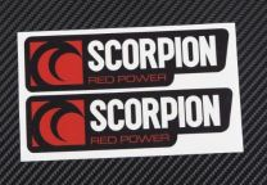 Scorpion autocolantes 12 cm