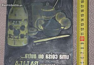 Chapa de impressão Offset - refrigerante Balila
