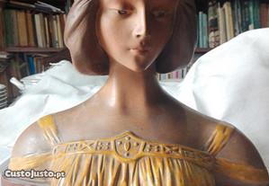 Busto de mulher anos Principio Séc XX - Arte Nova