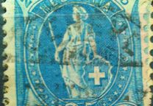 Selos Antigos Suiça Filatelia Helvétia 1881-1970