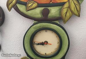 Relógio de parede de cozinha