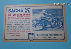 Folheto SIS Sachs motorizadas motores Sachs