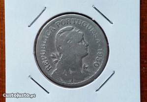 1 Escudo em Alpaca de 1930