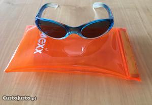 Óculos de Sol criança MEXX com estojo - Como NOVOS