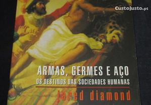 Livro Armas Germes e Aço Destinos das Sociedades