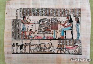 Três Papiros Egípcios que pode fazer quadros