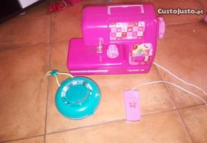 Máquina Costura Barbie + kit de costura
