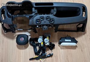 Kit Airbags Fiat Panda Tablier Original Completo