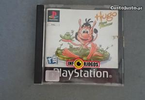 Jogo PS1 - Hugo Frog Fighter