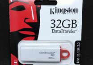 Pen USB Kingston 32GB - DataTraveler G4- Selado