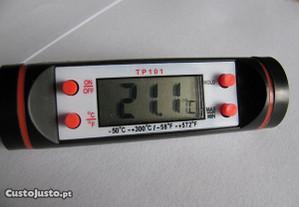 Sonda/Termómetro digital de cozinha
