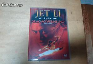 Dvd original a lenda do dragao vermelho jet li