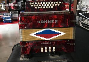 concertina hohner 3a voz em fá