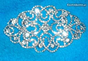 acessorio de strass para vestido de noiva ou cerim