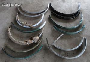 Guarda lamas de bicicletas antigas