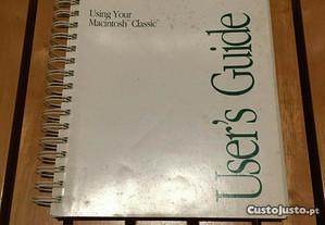 manual Apple Macintosh 512k classic users guide (retro)