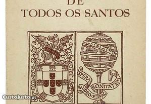 livro Regimento do Hospital de Todos os Santos