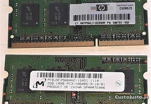 Memória Ram 4GB (2 x 2GB) DDR3