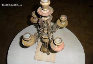 Castiçal bronze 5 velas