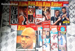 Revistas Super Basket [números na descrição]