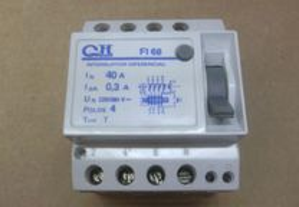Interruptor Diferencial CH 40A 4P