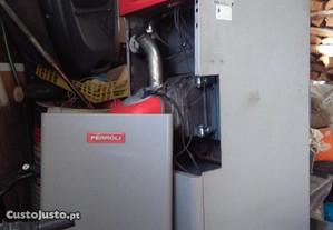 Caldeira a gasoleo Ferroli com termoacomulador