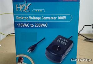 Conversor HQ 110V para 230V 100W - Novo