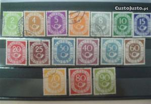 Selos da Alemanha 1951 / 52