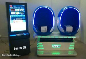 Realidade virtual 9d máquina entretenimento(novo)