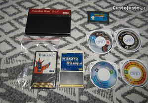 Lote de Jogos Sega / Nintendo / Playstation
