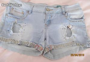 Shorts de ganga para senhora XL