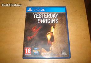 jogo original ps4 yerterday origins