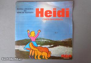 Disco vinil single infantil - Heidi
