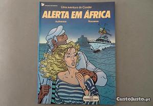 Livro Banda Desenhada - Alerta em África