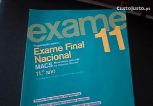 Livro de preparação - 12º Ano Exame MACs