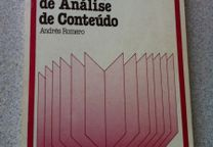 Metodologia de Análise de Conteúdo (portes grátis)